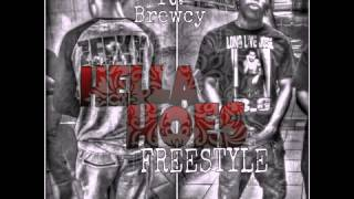 Zeeky Ft. Brewcy- Hella Hoes Freestyle