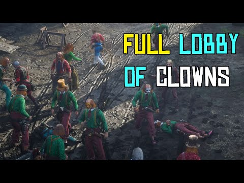 WTFF::: Red Dead Online Fans Demonstrate Their Disappointment by Dressing as Clowns