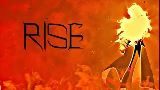 RWBY AMV - Rise ~ Yang
