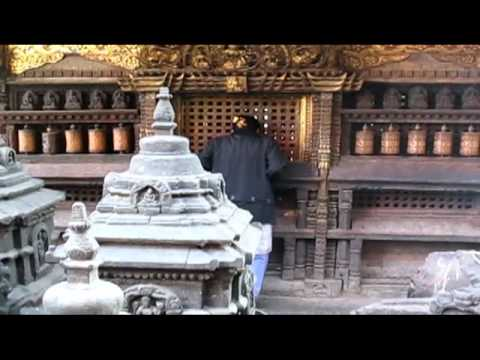 Morning at Swayambhunath