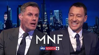 Gerrard, Scholes or Lampard - Who do Terry and Carragher think was the greatest?   MNF Q&A