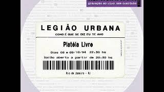 Legião Urbana - O descobrimento do Brasil (ao vivo)