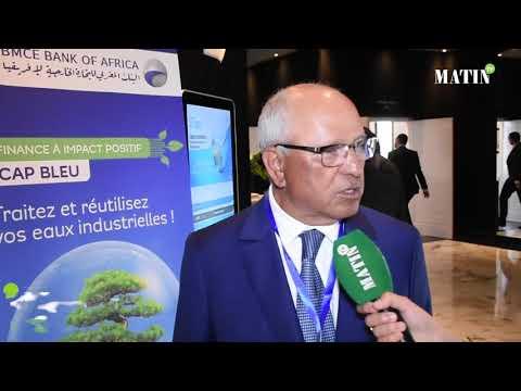 Video : SITeau : Déclaration de Mohamed Chaibi, président de la Coalition pour la valorisation des déchets -CGEM
