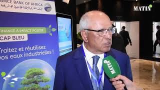 SITeau : Déclaration de Mohamed Chaibi, président de la Coalition pour la valorisation des déchets -CGEM