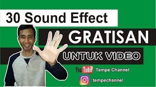 Download Efek Suara Gratisan Untuk Video Youtube, Instagram Dan Lain-lain