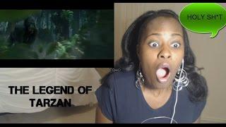 THE LEGEND OF TARZAN | Official Trailer - Reaction