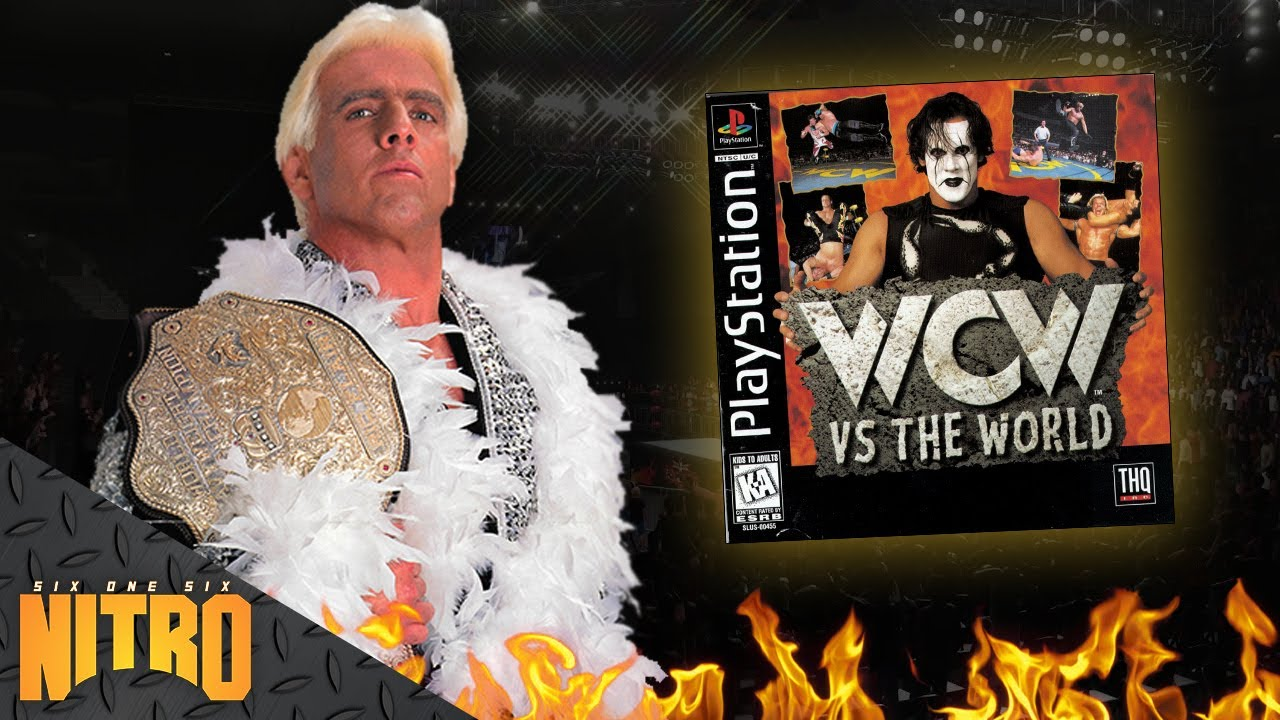 616Entertainment - Winning The World Championship with Ric Flair in WCW Vs. The World! - 616Nitro.