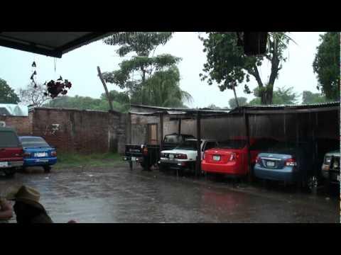 Torrential Rain in Granada, Nicaragua