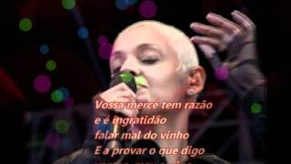 Mariza - Oiça lá o Senhor Vinho (with lyrics)