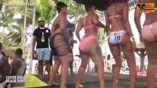Concours de fesse au coupé decalé beach party