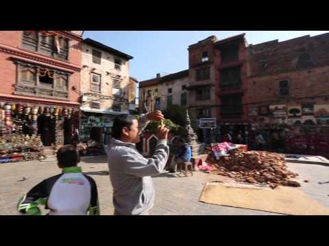 View near Swayambhunath stupa