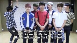 BTS manda recado para A.R.M.Yz do Brasil #TRB_2ndhalf