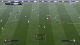 FIFA 17 co-op match gola bayern munich (renato sanches)