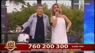 Elena Correia e Jose Malhoa « Baila a meu lado» Somos Portugal em Ourique 26.01.17