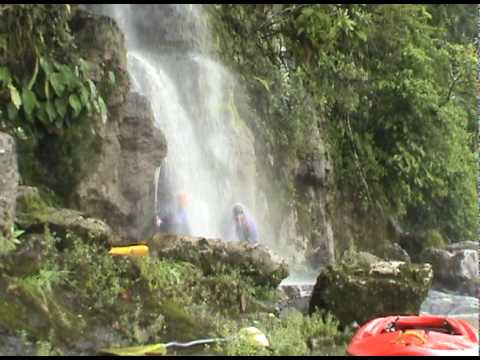Kayaking the Rio Jatunyacu, Ecuador 2010