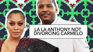 Weigh In: Is La La And Melo Staying Together Good For Black Culture?