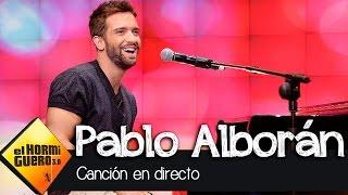 Pablo Alborán canta en directo en El Hormiguero 3.0