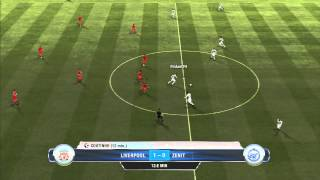 FIFA 13: Amazing ball by Gerrard!