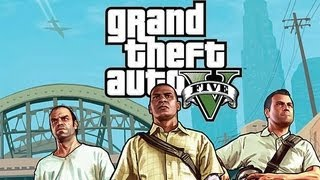 GTA V -  3 MAIN CHARACTERS & COVER REVEAL GAMEINFORMER