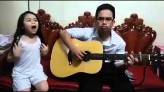 A Thousand Years- Esang (with her Kuya on guitar)