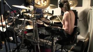 Drum tracking - death metal project - studio drum cam