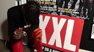 Famous Dex on Set At XXL Magazine