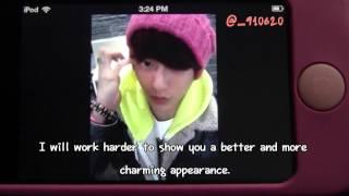 [Eng Sub] 121129 Minhyuk's Birthday Starcall