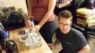 Shitty Drinking Robot