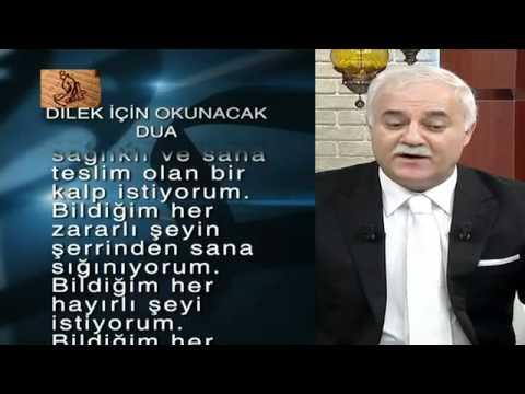 Nihat Hatipoglu- Dilek icin okunacak Dua