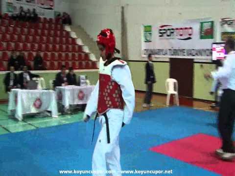 67kg Semifinal_ Buse Senturk - Elif Bekil