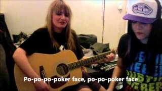 Dirty Diary (Jena LEE et Gia) cover Poker face (paroles)