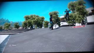 Skate 3 funny 'Ninja kick'