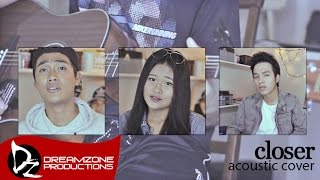 Closer (Acoustic Cover) - Sam Mangubat, Jun Sisa & Kris Angelica