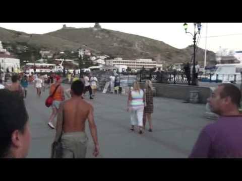 07-24-2010 Part 26 of 27 – Downtown Balaklava, Crimea, Ukraine.wmv