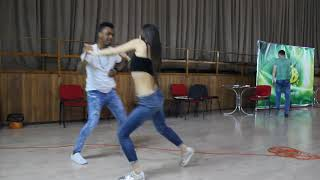 Ed Sheeran Perfect. Yuniert & Galina. Bachata Fusion Tricks 1 (Training time) Z'n'B fest 2018