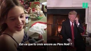 La fillette qui a parlé à Trump du Père Noël n'a pas du tout été traumatisée