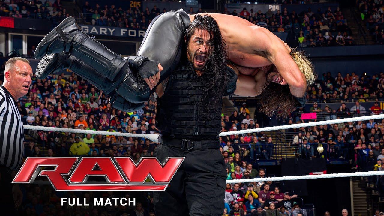 WWE - FULL MATCH - Roman Reigns & Daniel Bryan vs. Randy Orton & Seth Rollins: Raw, Feb. 23, 2015