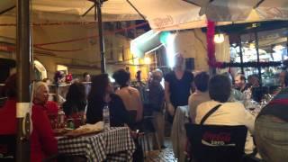 Porta d'Alfama Lisbon - restaurant owner hahaha