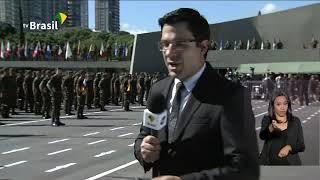Bolsonaro participa do Dia do Exército em São Paulo