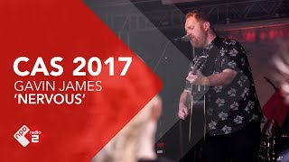 Gavin James - 'Nervous' Live @ Concert at SEA 2017 | NPO Radio 2