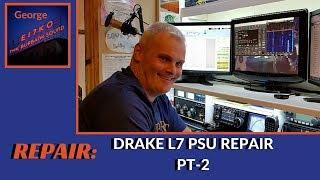 Drake L7 power supply repair pt2