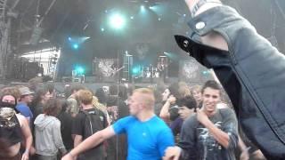 Destruction @ Hellfest 2011 - Circle pit