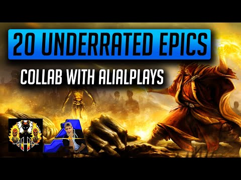 RAID: Shadow Legends | 20 Underrated Epics, Part 1! Do not let these guard the vault with AliAlPlays