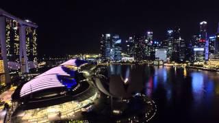 DJI Inspire 1 - Singapore Night