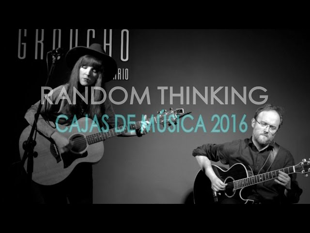 RANDOM THINKING- I´m a woman and you´re a man (acústico)