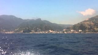 Costiera Amalfitana dal mare - Amalfi Coast from the sea