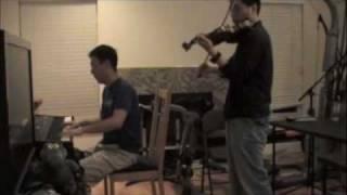 Flobots - Handlebars piano/violin cover