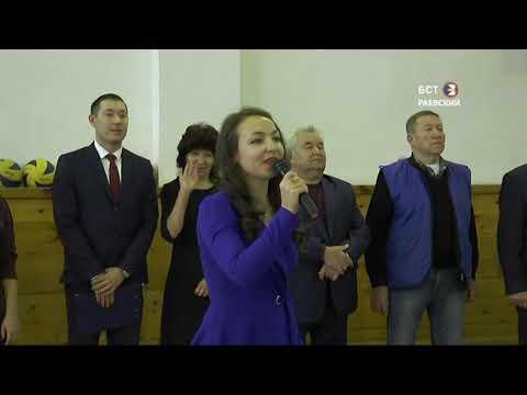 Состоялся турнир по волейболу памяти С. Саниева