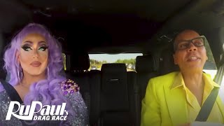 Drag Queen Carpool: Alexis Michelle | RuPaul's Drag Race Season 9 | Now on VH1!