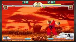 SF3 3rd Strike Online Edition Ryu vs Ken
